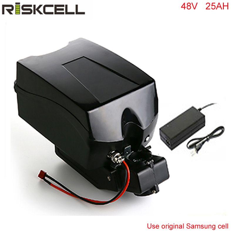 48 v 1000 watt elektrische fahrrad batterie 48 v 25Ah batterie pack für 48 v bafang/8fun 1000 watt motor mit Frosch Fall + Chargrer Für Samsung zelle