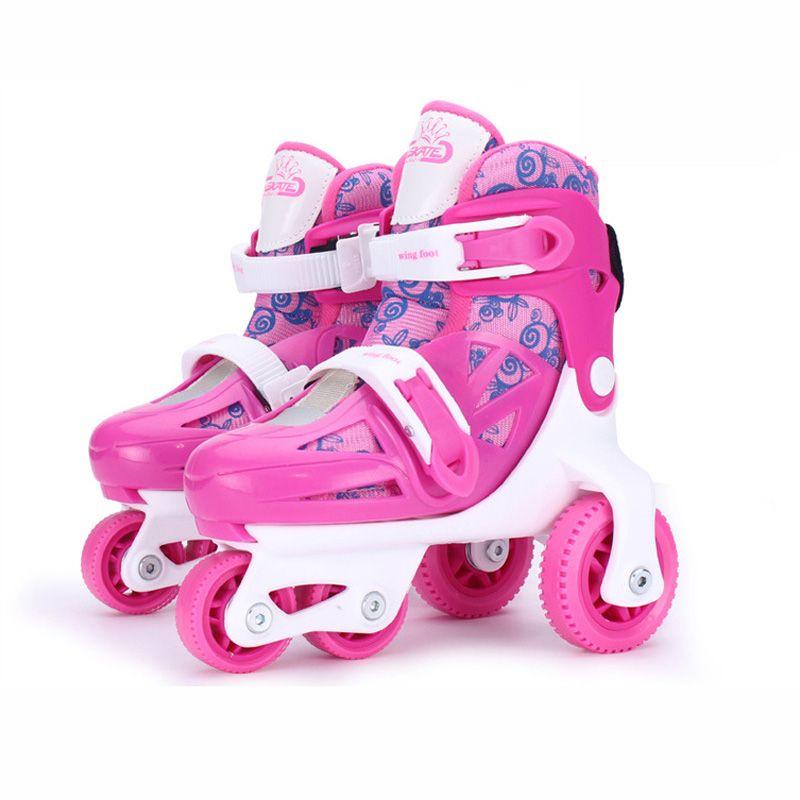 Kinder Kinder Reizende Nette Stabile Balance Slalom Parallel Schlittschuh Roller UNBreak Schuhe Einstellbare Waschbar Sturzprävention