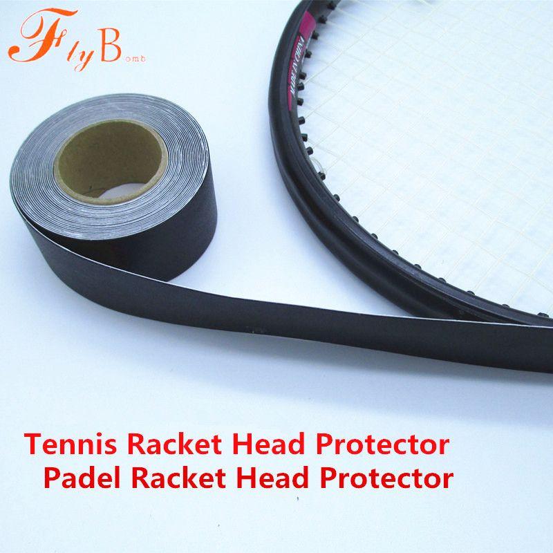 480 cm De Tennis Padel Raquette protection pour la tête Autocollants Raquette à Réduire l'impact et Friction Autocollants tenis Surgrip L353OLB