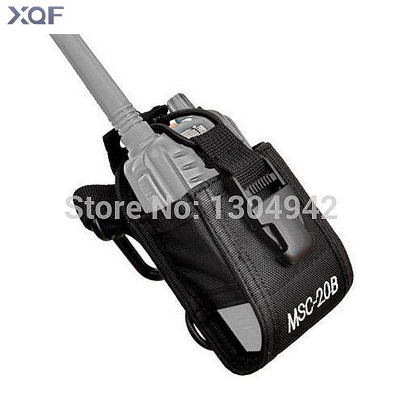 Baofeng Radio Cas Titulaire MSC-20B Portable Poche Pour Baofeng UV-5R UV-82 Kenwood Yaesu ICOM TYT Talkie Walkie Accessoires