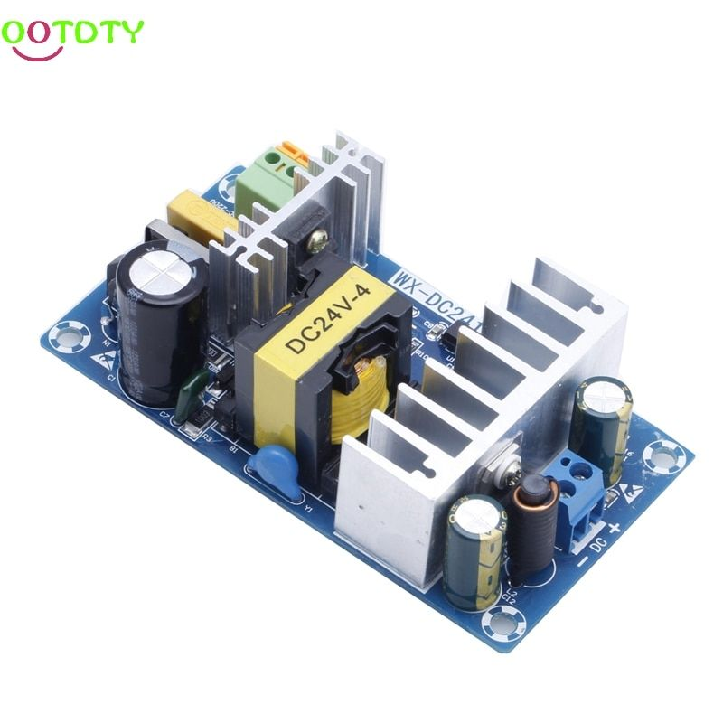 Power Supply Module AC 110v 220v to DC 24V 6A AC-DC Switching Power Supply Board 828 Promotion