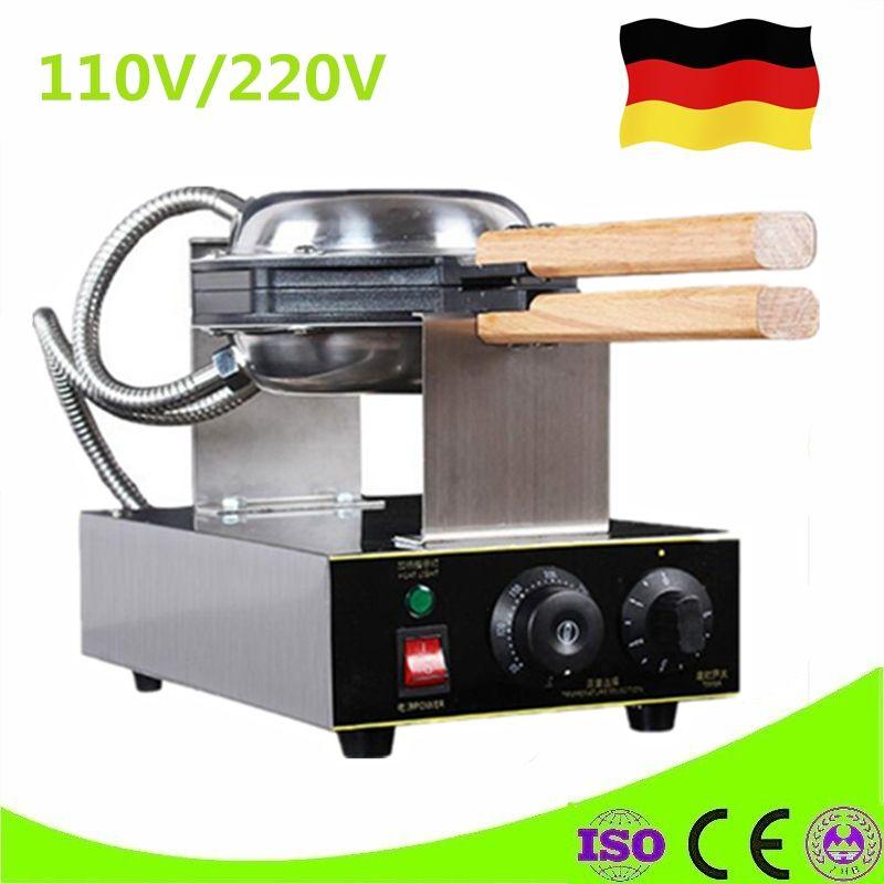110V 220V Bubble Waffle Maker Electric Waffle Pan Muffin Machine Kitchen Appliance Sandwich Maker