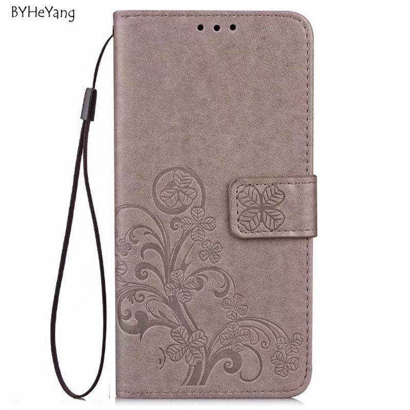 BYHeYang For Xiomi Xiaomi Redmi 4X Case 5.0inch Wallet PU Leather Cover Phone Case For Xiaomi Redmi 4X 4 X Pro Flip Back Cover