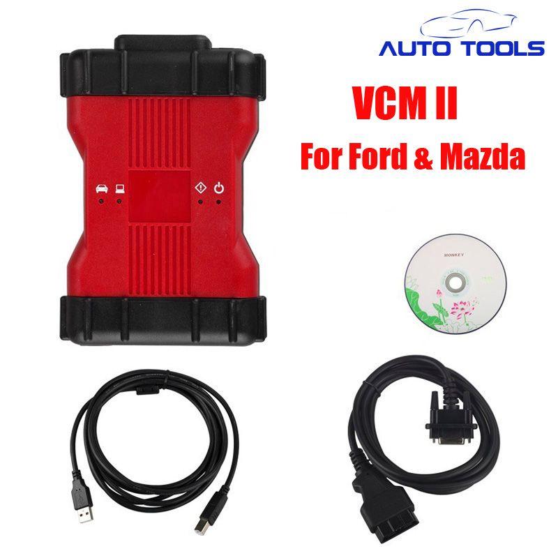 DHL FREE VCM2 Diagnostic-tool Scanner V106 For Ford & for Mazda V108 VCM II IDS Support 2015 Vehicles IDS VCM 2