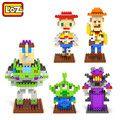 LOZ Toy Story Woody Buzz lightyear Jessie Toy Model Action Figure Building Blocks Original Retail Box 9+ Gift LOZ