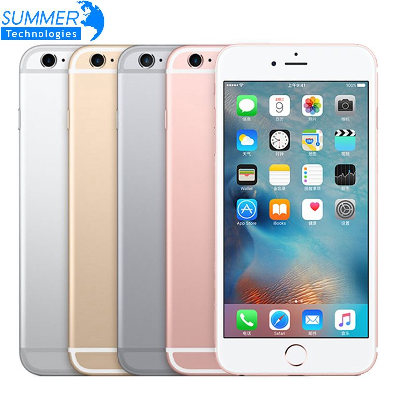 Unlocked Original iPhone 6S/6s plus Smartphone IOS Dual Core 12.0MP Camera 2GM RAM 16/64/128GB ROM 4G LTE Mobile Phone