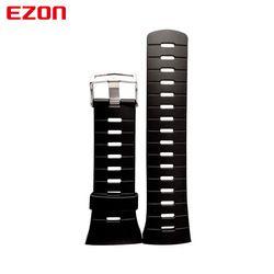 EZON Olahraga Watch Pin Gesper Tali Karet 24Cm Panjang Baru Fashion Gelang Jam untuk L008 T023 T029 T031 G2 G3 s2 H001 T007 T037 T043