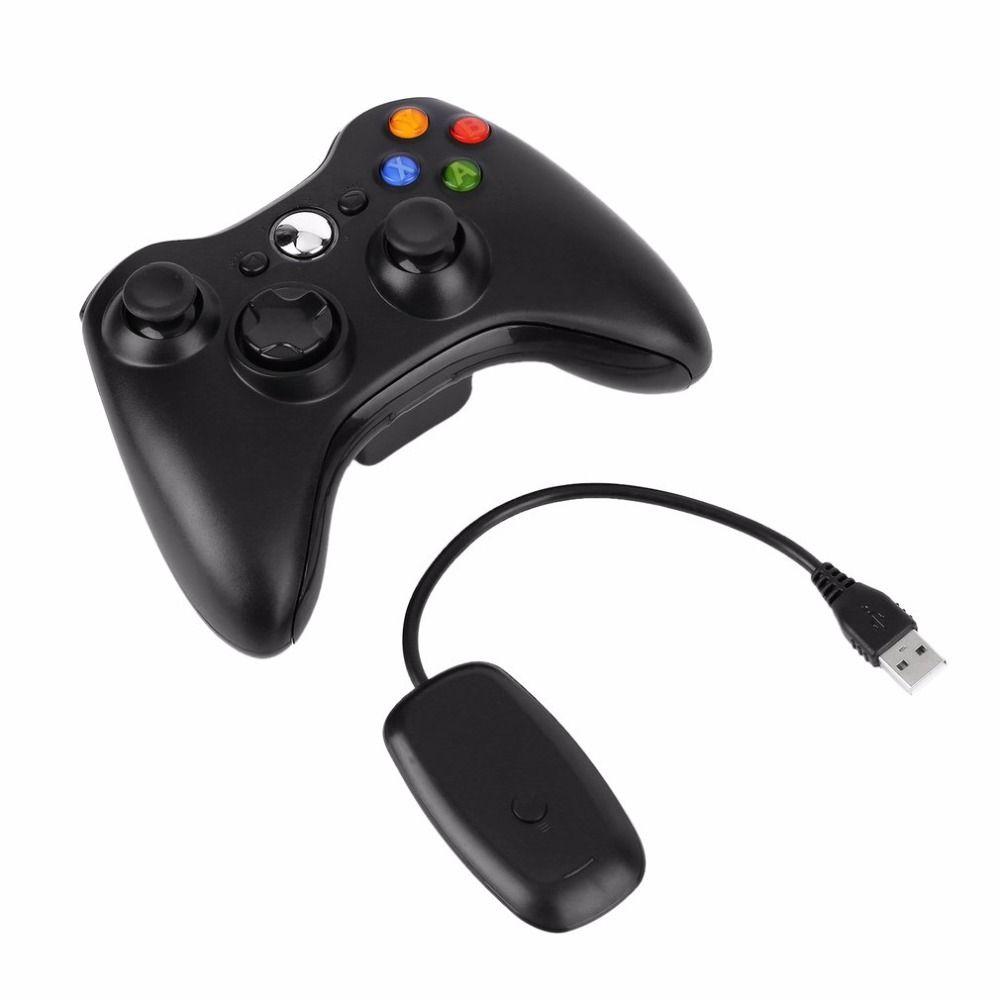 2.4 г Беспроводной контроллер USB игровая геймпад джойстик приемник для Xbox 360 для ПК компьютер для Windows XP Win7 win8 Win8.1