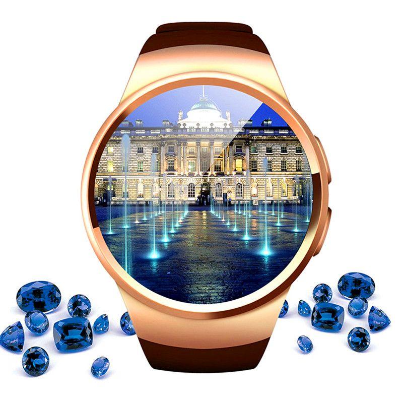 Haute Technologie Smart Watch Connecté Montre-Bracelet Pour Samsung Huawei Xiaomi Android Smartphones Soutien Sync Appel Messager Smartwach
