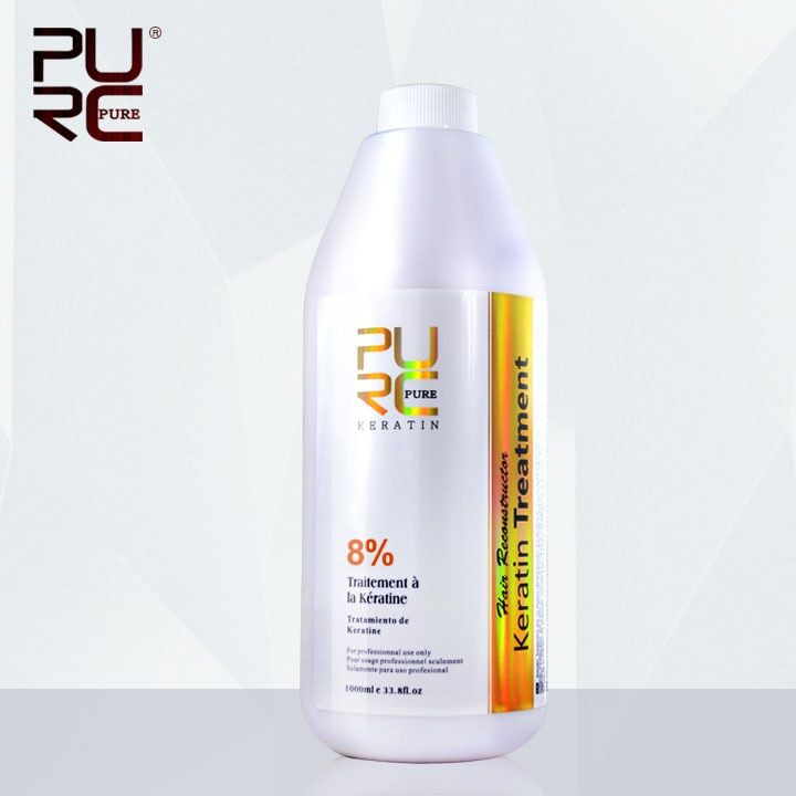 1000ml 8% Formaldehyde hair treatment products Brazilian keratin for Strong chocolate hair treatments provide your lable