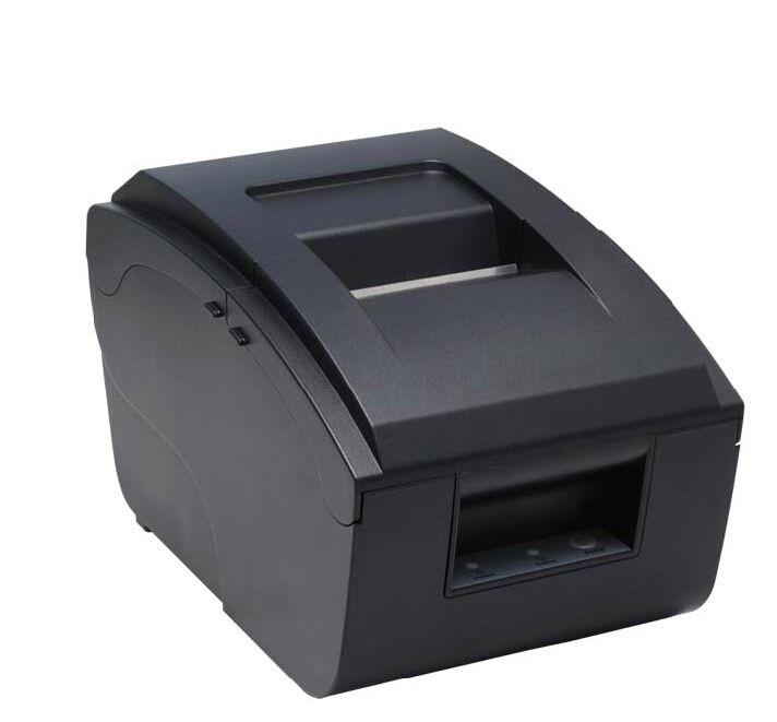 En gros 76mm imprimante matricielle Haute qualité vitesse d'impression rapide USB et parallèle port peut être sélectionné POS Imprimante