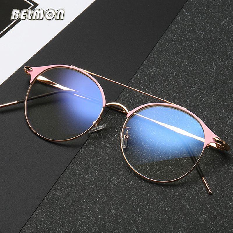 Cadre de lunettes Anti-bleu rayons hommes femmes lunettes Opitcal ordinateur jeu lunettes de vue lentille claire pour homme lunettes de soleil femme RS548
