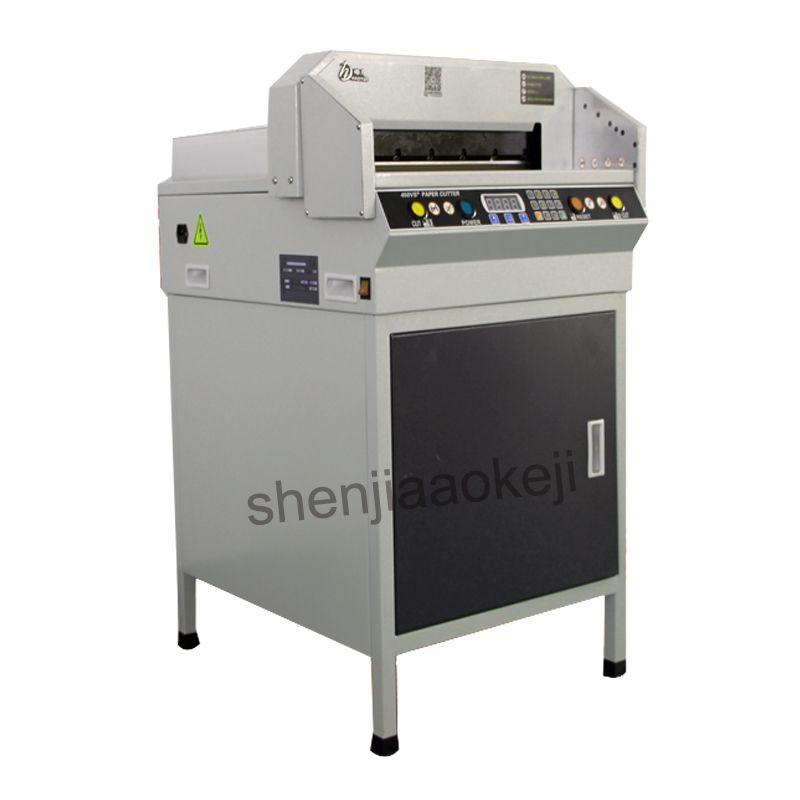 G450VS + Elektrische Papier Cutter Automatische NC Papier Cutter A3 größe Papier Cut maschine digitale papier trimmer110v/220 v 1 pc