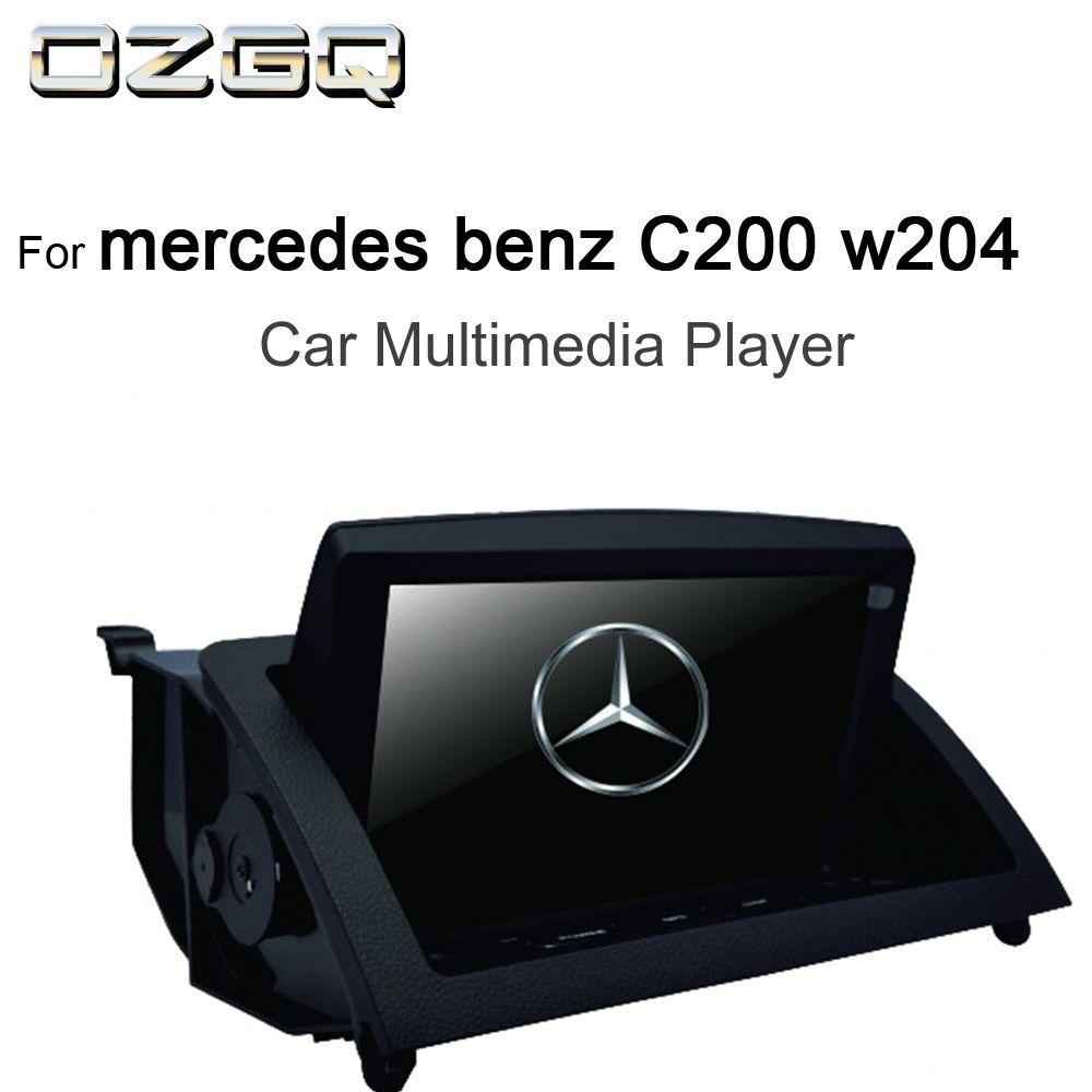 OZGQ 8 zoll Android IPS Screen Auto Multimedia-Player GPS Steuergerät Autoradio Navigation Für 2007-2011 Mercedes benz C200 w204