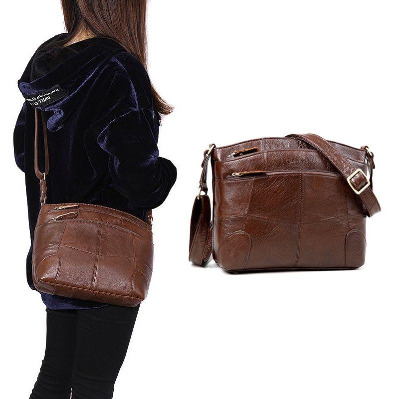 Cobbler Legend Genuine Leather Bags for Women Large Capacity Brand Shoulder Bag Ladies Crossbody Bags 2018 New Handbag Female