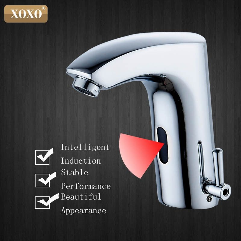 XOXO bathroom touchless sensor faucet automatic infrared touch Inductive Electric Deck Toilet Wash Mixer Water Tap X8803B