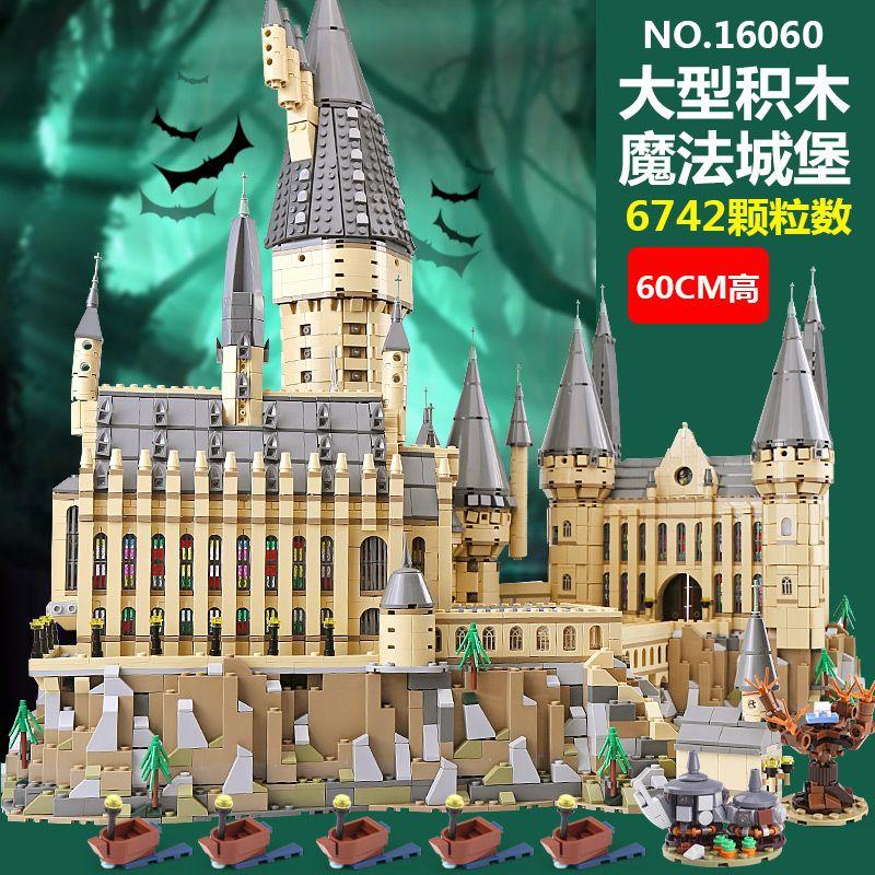 In Aktien Lepin 16060 Harry Film Potter Magic School Legoinglys 71043 Hogwarts Castle Set Bausteine Modell Kinder Spielzeug Geschenke