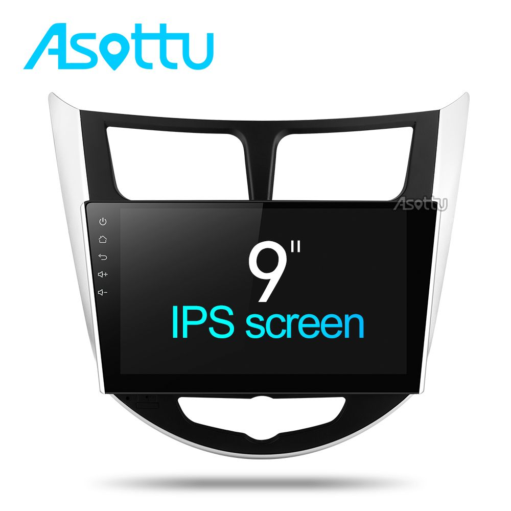 Asottu CRN9060 android Car dvd gps player 8 Octa core for Hyundai Solaris Verna android car dvd radio gps navigation player