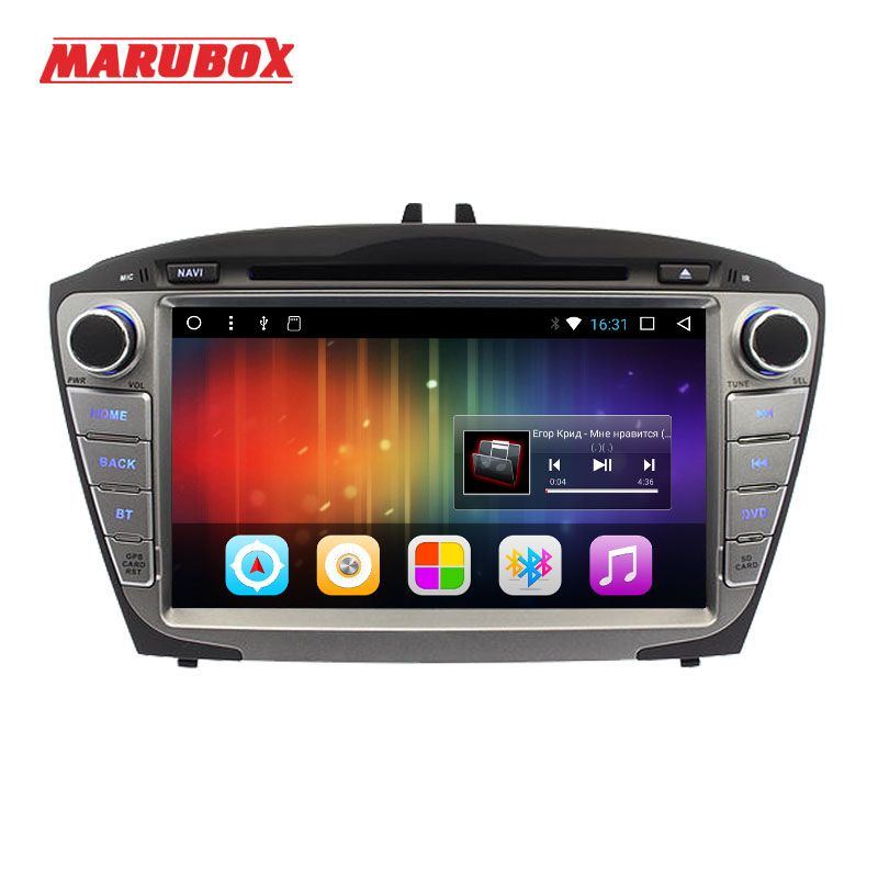 Marubox Head Unit For HYUNDAI ix35 Tucson 2009-2014 2 Din Android 7.1 Radio GPS Navigation DVD Car Multimedia Player 8A301DT3