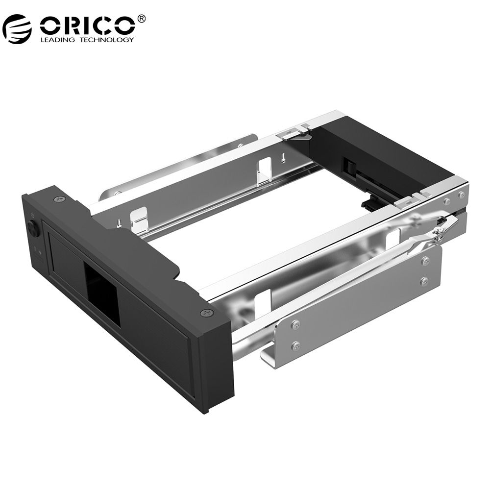 ORICO CD-ROM Space HDD Mobile Rack Internal 3.5 <font><b>Inch</b></font> HDD Convertor Enclosure-Black(1106SS-BK)