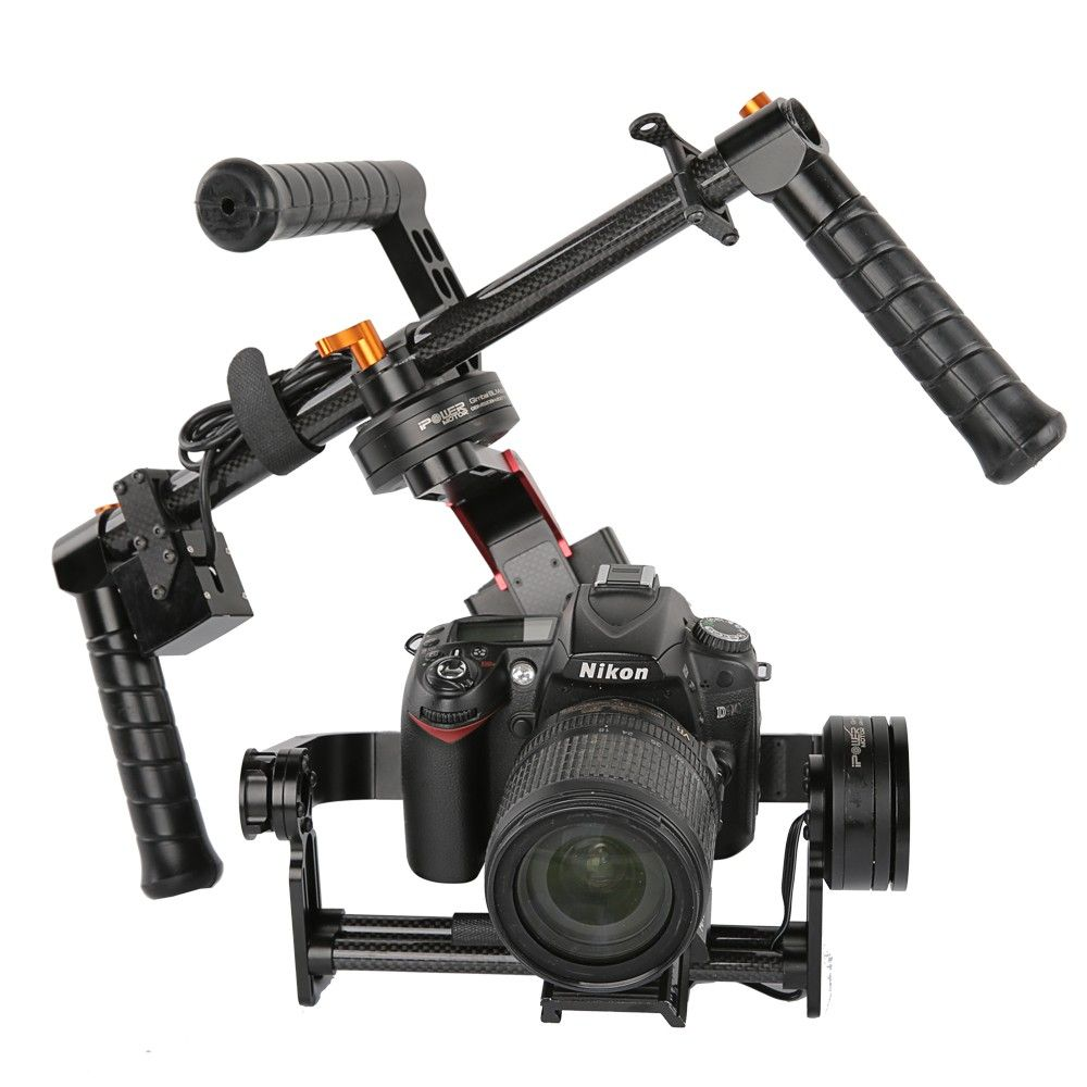 RTF iFlight G15 3 Axis CNC DSLR Handheld Brushless Gimbal w/ 32 bit Simple BGC for 5D/GH3/GH4/A7S GYRO steadycam stabilizer