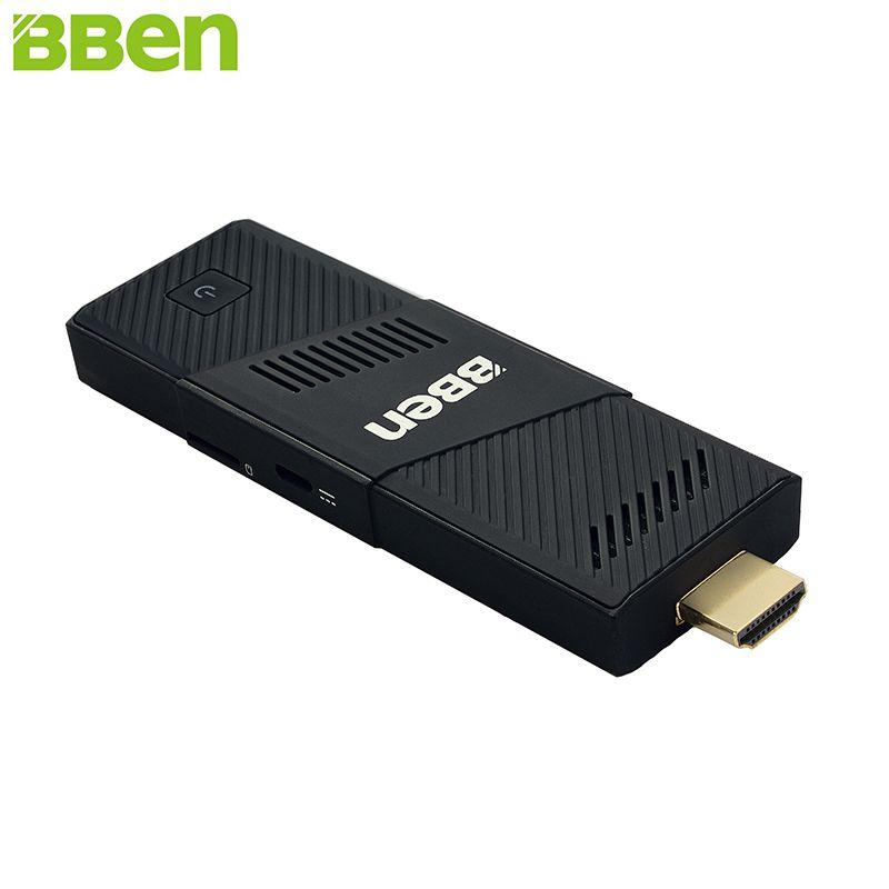 BBen MN9 <font><b>Mini</b></font> PC Stick Windows 10 Ubuntu Intel Z8350 Quad Core Intel HD Graphics 2GB 4GB RAM WiFi BT4.0 PC <font><b>Mini</b></font> Computer