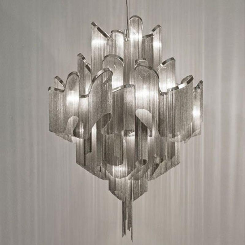 Atlantis Suspension Light Stream Pendant Light By Barlas Baylar from Terzani Ceiling Lamp Lighting Fixture