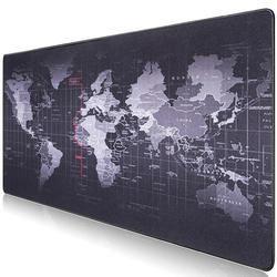 Горячая продажа Экстра большой коврик для мыши карта старого мира игровой коврик для мыши Противоскользящий натуральный резиновый игровой...