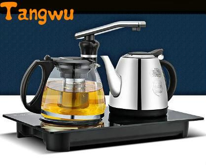 Free shipping new automatic water pumping electric kettle to boil make tea pot insulation suit Electric kettles