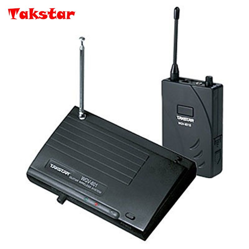 Takstar WGV-601/WGV 601 Wireless Guitar Amplifier System For guitar,Electric guitar,bass,box piano,blowpipe transmitter&receiver