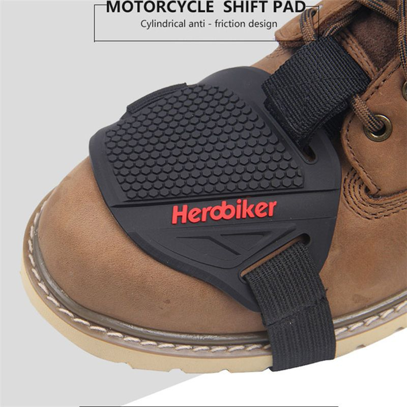 HEROBIKER Motorcycle Gear Shift Collars Cover Mention Protection Shoe Outdoor Non-Slip Super Wear-Resistant Shoes Cover 1 Pcs