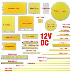 ALLCOB Mix größe 12 V DC 2-200 W cob led bar auto lichtquelle flip chip outdoor indoor lampe runde Diode led cob panel streifen lampe