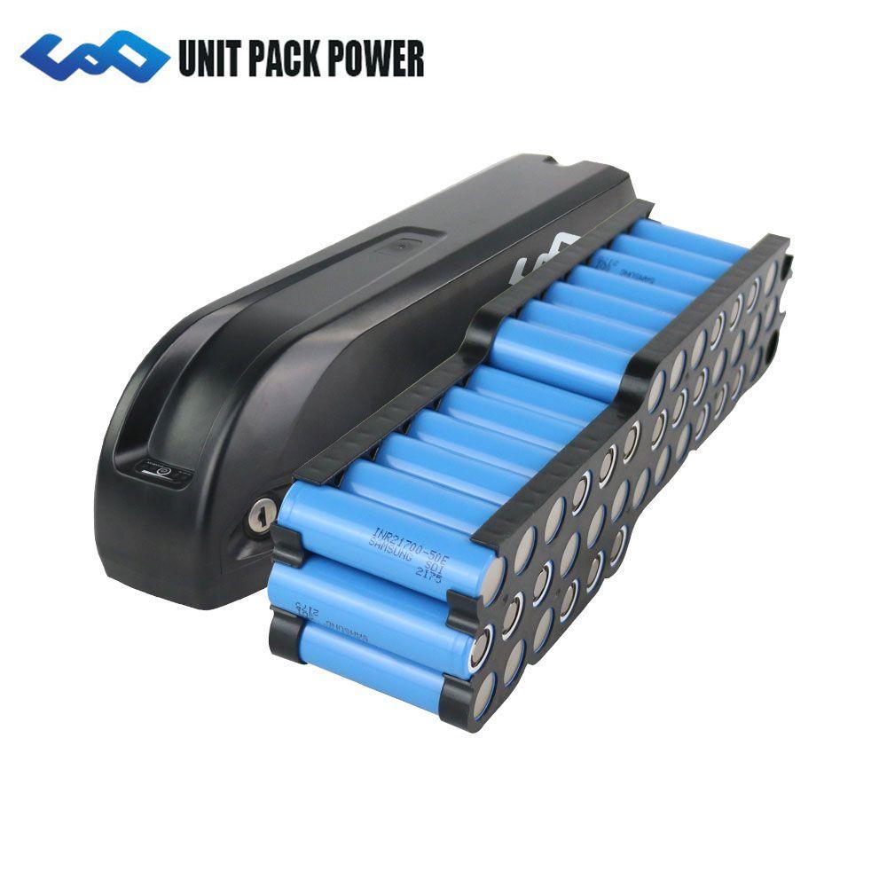 UPP 48V 1500W Batterie 2019 Neue Hailong Batterie mit 21700 Samsung 5000mAh zellen 48V 52V 1000W 1200W Elektrische Fahrrad Batterie 48V