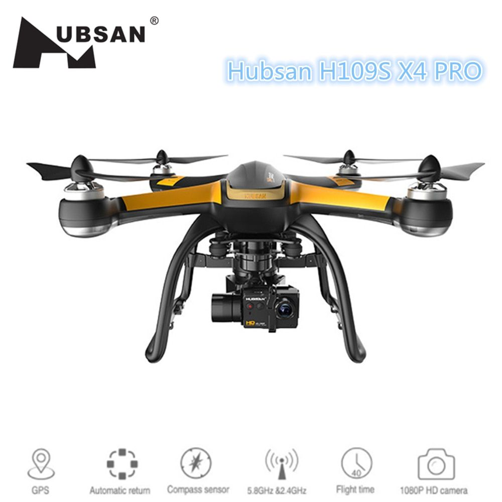 Hubsan X4 PRO H109S Professional GPS RC Drone Brushless 5.8G 7CH Quadcopter FPV 1080P HD Camera RC Helicopter VS Xiaomi Mi Drone