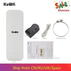 3KM Jangka Panjang Kolam CPE Router Wifi 2.4G Hz 300Mbps Wireless AP Wifi Repeater Titik Akses Wifi Extender jembatan Klien Router