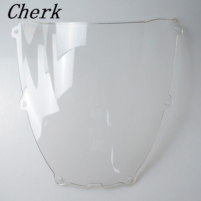 New Clear Motorcycle Double Bubble Windshield Windscreen Fairing For Yamaha YZF600R YZF 600R Thundercat 1994-2007