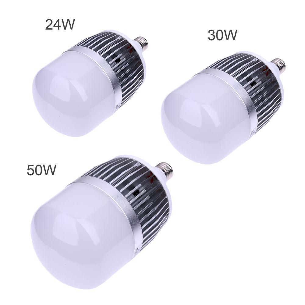 24 Вт 30 Вт 50 Вт Светодиодные лампы E27 База Светодиодная лампа smd 3535 Алюминий PC пластины, светодиодные лампы ac170-260v для гостиной Спальня ng4s