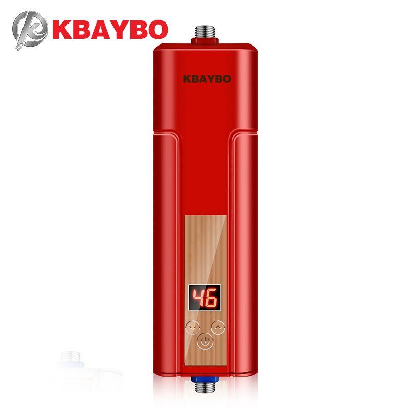 3 секунды проточный водонагреватель Электрический Душ водонагреватель коснитесь термостатом до 55 градусов по Цельсию
