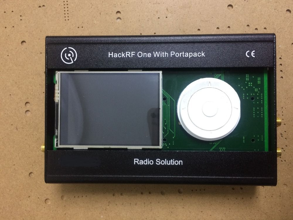 2017 latest version PORTAPACK FOR HACKRF ONE SDR Software Defined Radio with metal case