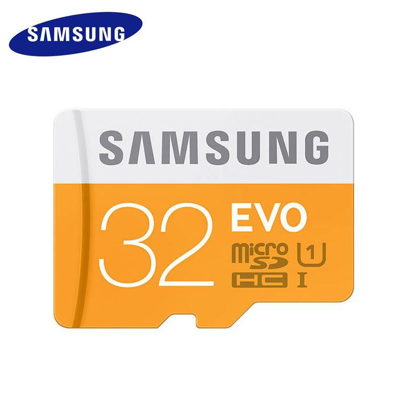 SAMSUNG Micro SD Carte Mémoire 32 GB Mini Sd Cartes 32 gb Class10 étanche C10 TF Trans Flash Mikro Memoria Carte pour Mobile Téléphone