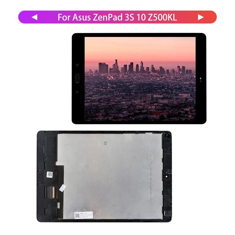 100% getestet Für Asus ZenPad 3S 10 Z500KL Z10 ZT500KL P001 Touchscreen Digitizer LCD Display mit Rahmen