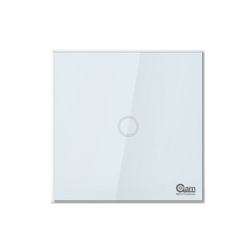 NEO COOLCAM Z-wave plus 1CH EU Wall Light Switch Home <font><b>Automation</b></font> ZWave Wireless Smart Remote Control Light Switch