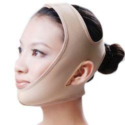Нежная лицевая тонкая маска для лица для похудения повязка на кожу ремень безопасности форма и подъем убирает двойной для лица и подбородка...