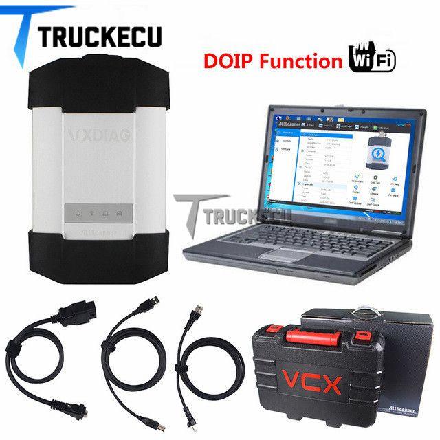Vxdiag C6/stern c6 (leistungsstarke als MB SD c4 & c5) + T420 laptop für Benz autos & lkw diagnose scanner werkzeug VXDIAG C6 DOIP & AUDIO