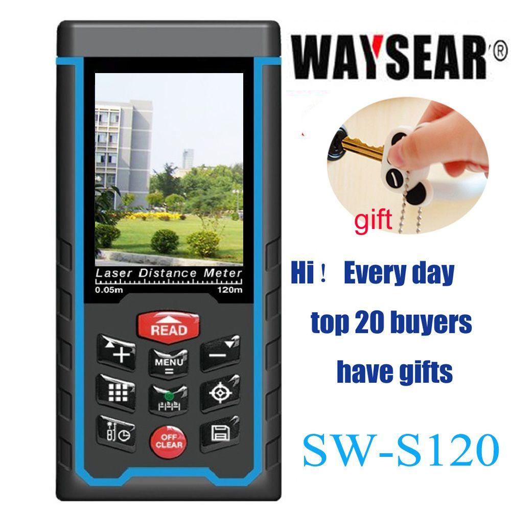 Laser rangefinder, Range finder ,distance meter tape With USB, angled,camer Digital Ruler Measure Angel Rechargeabel SW-S120/80m