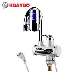 3000 W calentador de agua eléctrico inmediato del grifo filtro de agua del grifo de la cocina 2 tipos de modo de salida puede ser consumido directamente