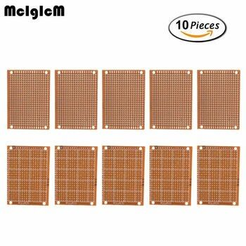 MCIGICM 10Pcs high quatity!! new Prototype Paper Copper PCB Universal Experiment Matrix Circuit Board 5x7cm Brand