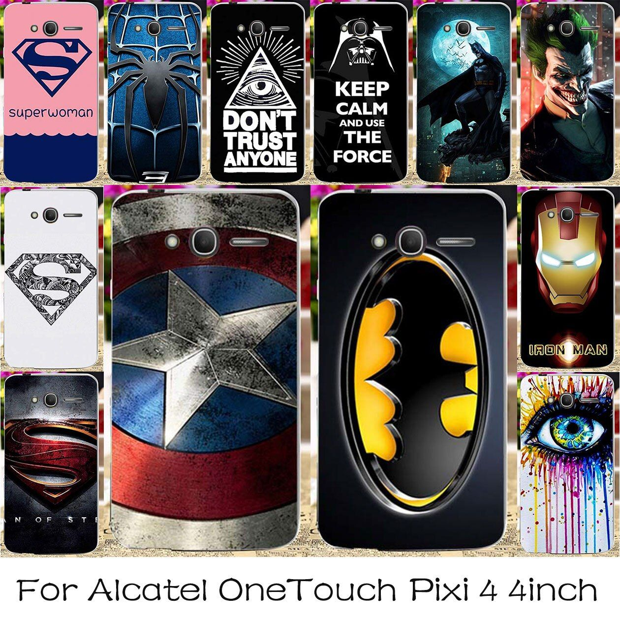 TAOYUNXI Silicone Phone Case For Alcatel OneTouch Pixi 4 4.0 inch Housing Cover OT4034 4034D 4034E 4034F 4034N 4034E Bag Cases