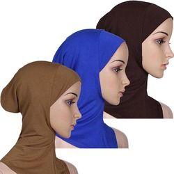 2015 Doux Musulman Pleine Couverture Intérieure de Femmes Bouchon Hijab Islamique Underscarf Cou Tête Capot Chapeau 76HL