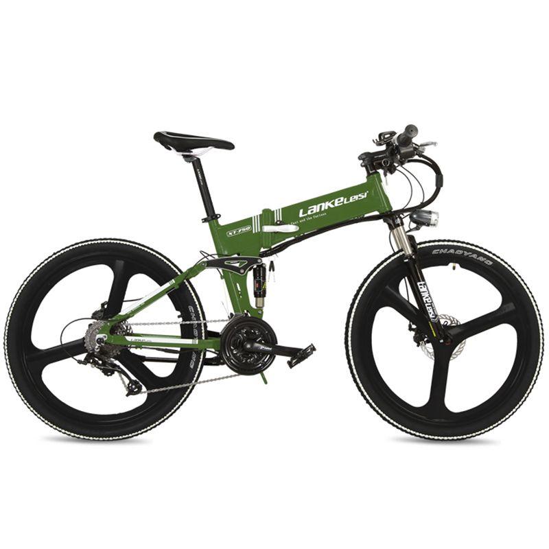 Upagraded, 26 zoll Magnesium Legierung Felge Versteckte Lithium-Batterie E Fahrrad, Mountainbike, Faltrad
